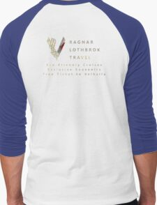 Ragnar Lothbrok Travel Men's Baseball ¾ T-Shirt