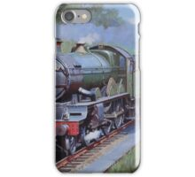GWR Castle in Sonning Cutting. iPhone Case/Skin