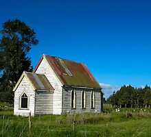 old church by Anne Scantlebury