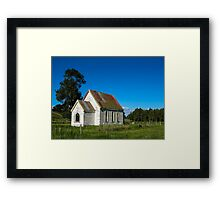 old church Framed Print