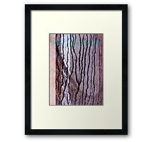 Path in Paper Framed Print