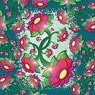 Floral #4 by Silvia Neto