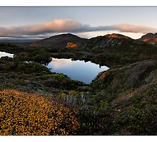 Cradle Plateau Dawning by Robert Mullner
