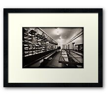 Strictly Mail Only_Junee Framed Print
