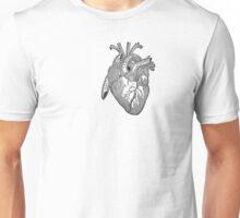 Heart: Antique anatomy view Unisex T-Shirt