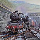 Vintage steam by Mike Jeffries