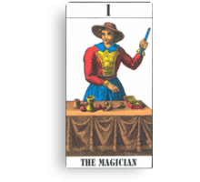 The Magician Tarot Canvas Print