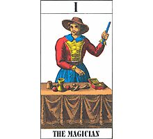 The Magician Tarot Photographic Print