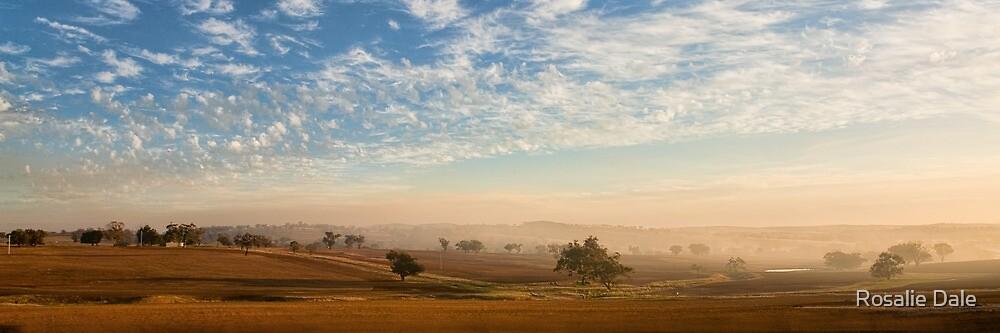Smokey Sunset #2 ~ Cootamundra (NSW) by Rosalie Dale