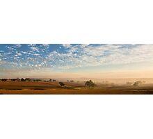 Smokey Sunset #2 ~ Cootamundra (NSW) Photographic Print