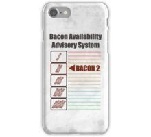 BACON 2 iPhone Case/Skin