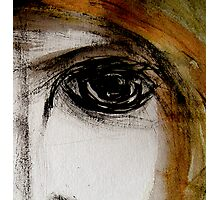 eye... empty look Photographic Print