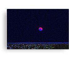 My Take On Super Moon Canvas Print