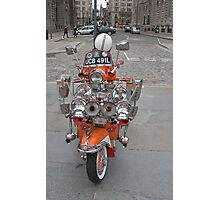 Scooter Mods Photographic Print