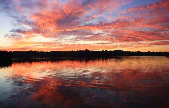 chinderah sunset ... by gail woodbury