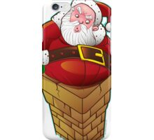 Santa Claus on the Roof iPhone Case/Skin