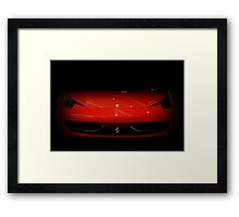 Something's lurking in the shadows Framed Print