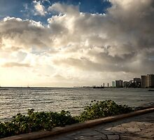 Waikiki - Late afternoon  by ZWC Photography