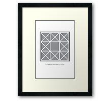 Design 91 Framed Print