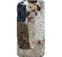 Han and Leias's the kiss iPhone Case/Skin