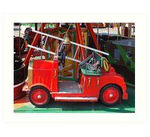 Fire Engine Art Print