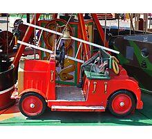 Fire Engine Photographic Print