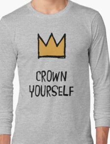 Crown Yourself Long Sleeve T-Shirt