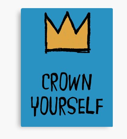 Crown Yourself Canvas Print