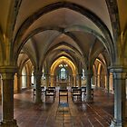 Crypt, Rochester Cathedral, Kent, England by Bob Culshaw