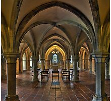 Crypt, Rochester Cathedral, Kent, England Photographic Print