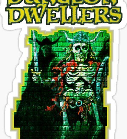 Dungeon Dwellers! Sticker