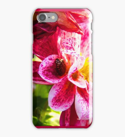 Flowers really do intoxicate me. iPhone Case/Skin