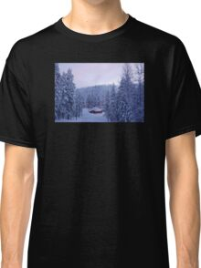 Hut in Enchanted Woods Classic T-Shirt