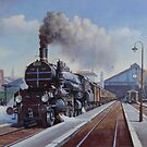 Orient Express at Vienna by Mike Jeffries