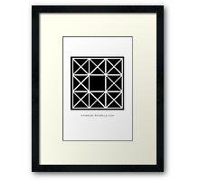 Design 92 Framed Print