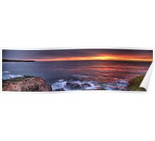 The Awakening - Northern Beaches Sydney - The HDR Experience Poster