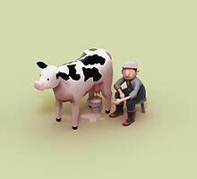 Milking time by SkinnyBoy