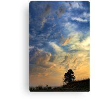 Towering Sky Canvas Print