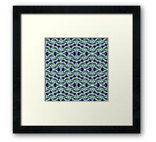 Blue Ball n' Chain Framed Print