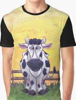 Animal Parade Cow Graphic T-Shirt