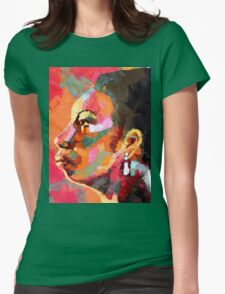 Keeper of The Flame - Nina Simone Womens Fitted T-Shirt
