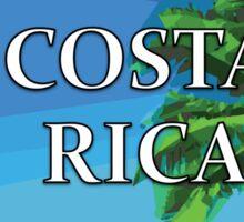 Costa Rica Vacation Graphic Sticker