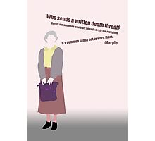 Miss Marple... Photographic Print