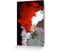 Colour Wafts #2 Greeting Card