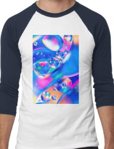 Oil & Water 5 Men's Baseball ¾ T-Shirt