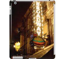 Broadway Burger iPad Case/Skin