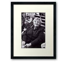 Mrs P Framed Print