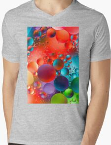 Oil and Water Mens V-Neck T-Shirt