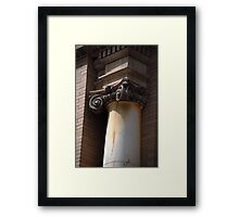 """A vertical shaft or.... Framed Print"