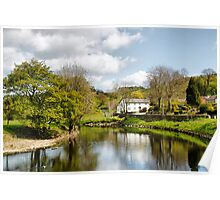 The River at Sawley Poster